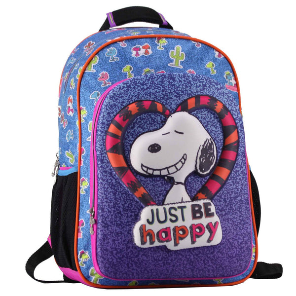 Mochila just be happy snoopy