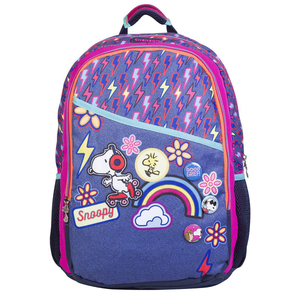 Mochila grande snoopy pop stickers