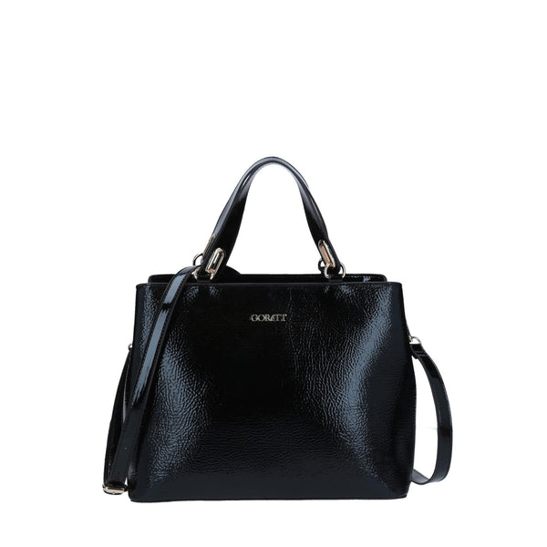 Texture Black Tote By Gorett