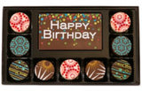 10-Pc. Birthday Gourmet Chocolate Truffles