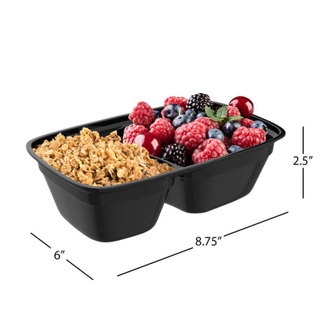 10-Piece Portion Control Meal Prep Containers