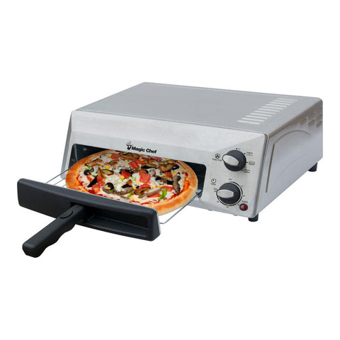 12 in. Countertop Pizza Oven in Stainless