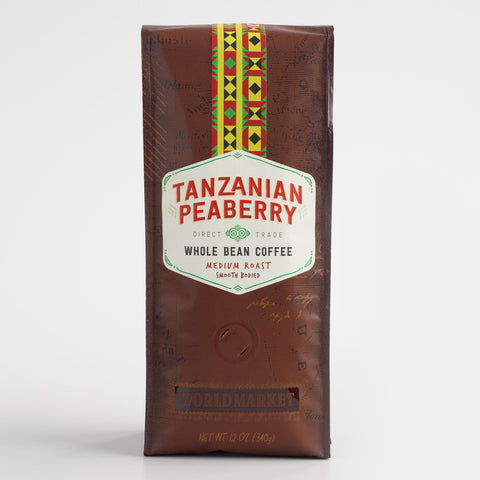 12 oz. World Market Tanzanian Peaberry Coffee Set of 6