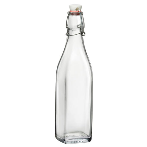 17 oz. Clear Glass Bottle (12-Pack)