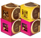 4-Pc. Milk Chocolate, Caramel and Hazelnut G Cube Set