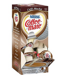 Coffee-mate Café Mocha Liquid Creamer, 0.38 Oz., 50/Box (NES35115)
