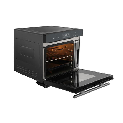5-in-1 Electric Countertop Convection Steam Oven with Touch Control and Rotisserie
