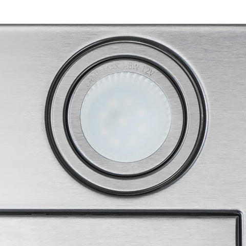 AKDY 36 in. Convertible Wall Mount Range Hood in Stainless Steel with Tempered Glass, Touch Control and Carbon Filters