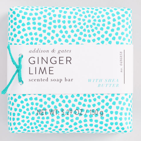 A&G Geo Pop Ginger Lime Bath and Body Collection