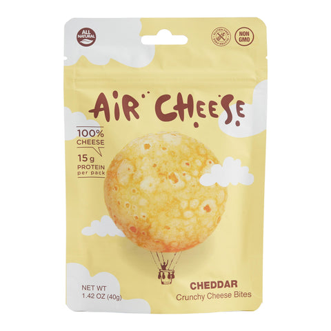 Air Cheese Cheddar Crunchy Cheese Bites Set of 10
