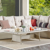 Alaterre Furniture Canaan Rectangle All-Weather Coffee Table