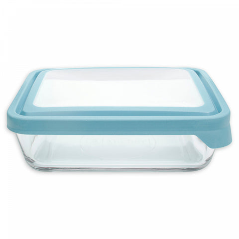 Anchor Hocking TrueSeal Food Storage Containers Collection in Clear/Blue
