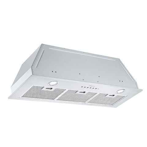 Ancona Inserta III 36 in. Ducted Insert Range Hood in Stainless Steel with LED and Night Light Feature
