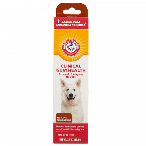 Arm and Hammer Clinical Gum Health Enzymatic Dog Toothpaste - Beef