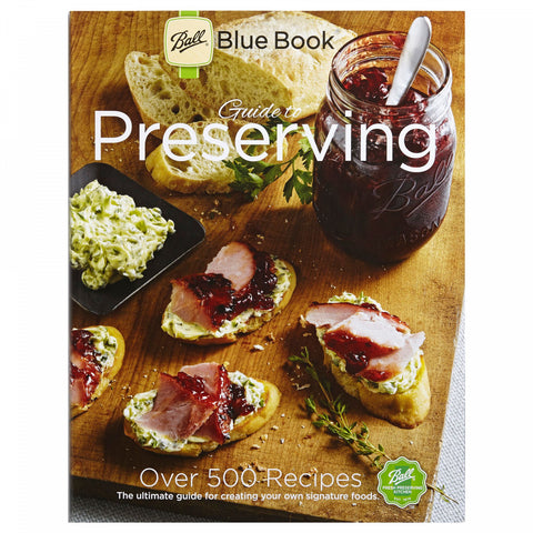 Ball Blue Book Guide to Preserving 37th-Edition