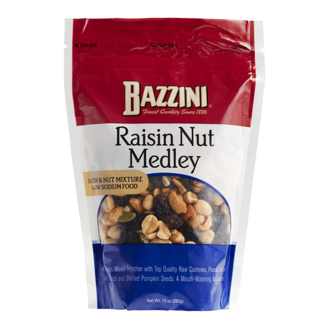 Bazzini Raisin Nut Medley Snack Mix Set of 8