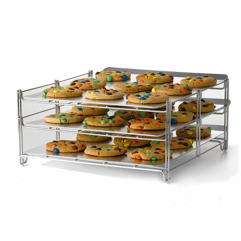 Betty Crocker 3-Tier Baking and Cooling Rack in Chrome