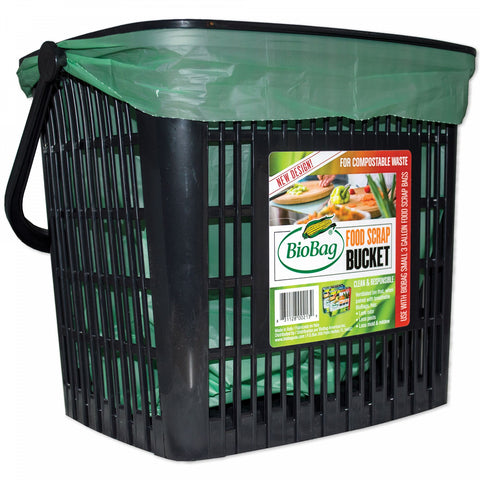 BioBag Kitchen Counter Ventilated Compost Bucket