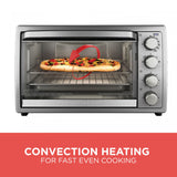Black and Decker 9-Slice Rotisserie Convection Oven