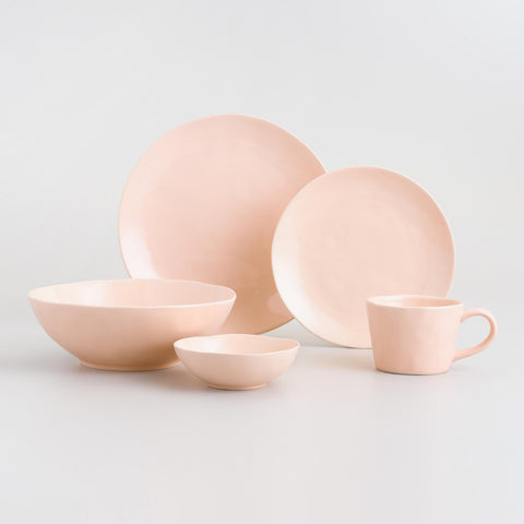 Blush Element Salad Plates Set of 4