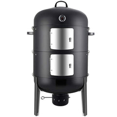 Boyel Living 20.5 in. Vertical Charcoal Smoker