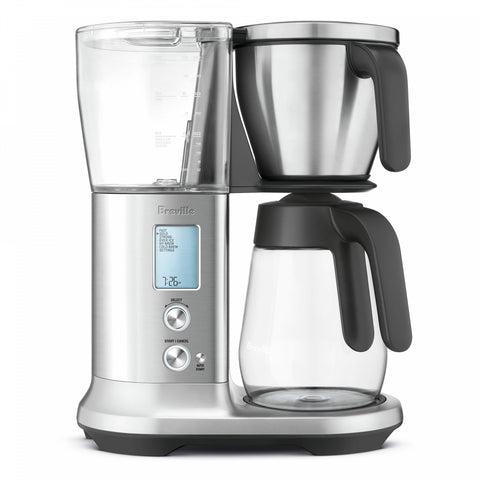 Breville 12-Cup Stainless Steel Precision Brewer Glass Coffee Maker