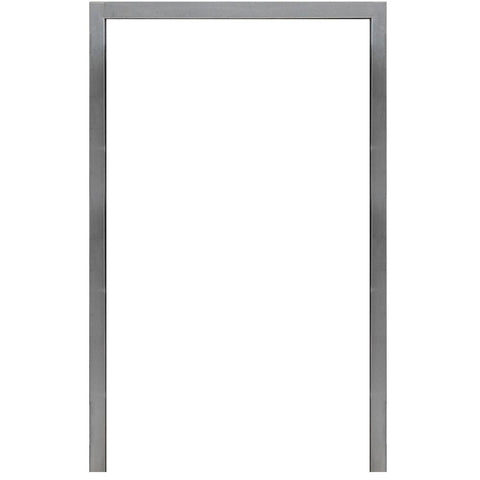 Cal Flame 21 in. x 33.25 in. Stainless Steel Frame