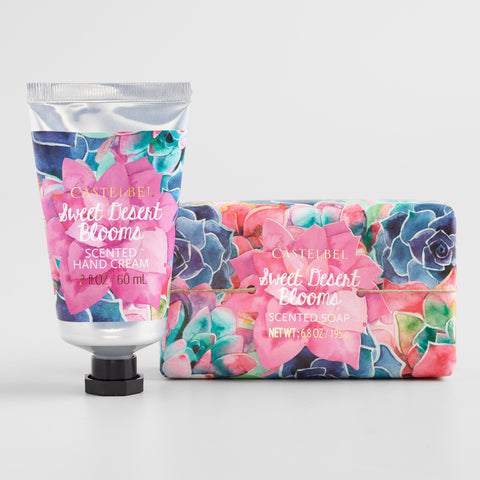 Castelbel Succulents Desert Blooms Body Care Collection