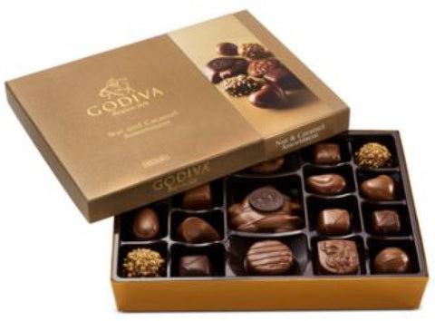 Chocolatier 19-Pc. Nuts and Caramel Gift Box