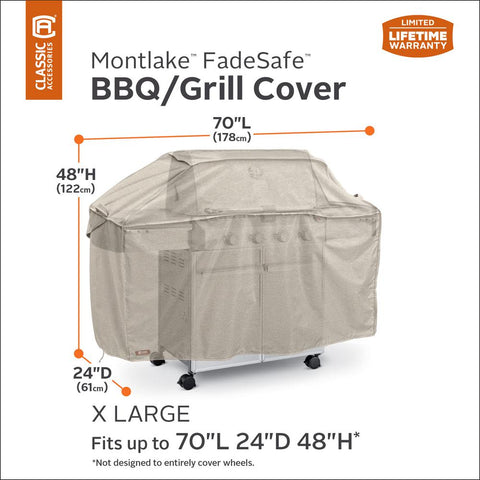 Classic Accessories Montlake 70 in. X-Large BBQ Grill Cover