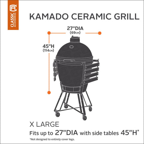 Classic Accessories X-Large Ceramic Grill Cover