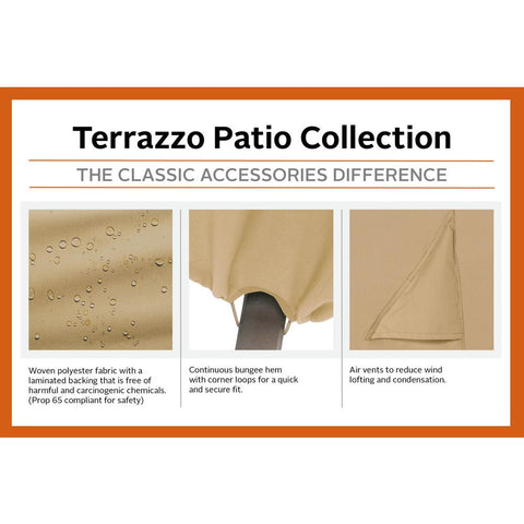 Classic Accessories Terrazzo 72 in. XX-Large BBQ Grill Cover