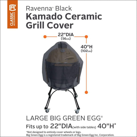 Classic Accessories Ravenna X-Large Kamado Ceramic Grill Cover