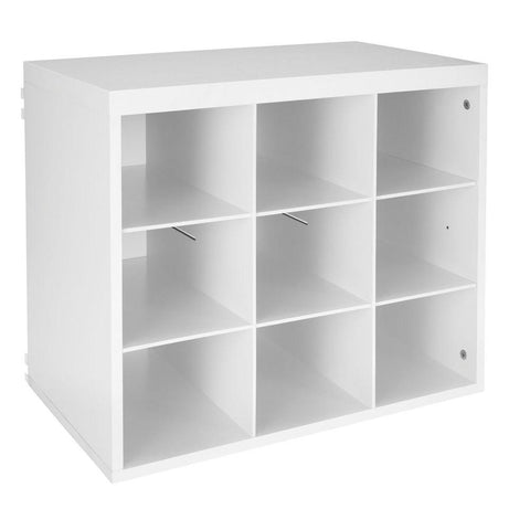 ClosetMaid Elite 19-3/4 in. White 9-Slot Organizer