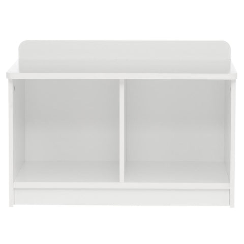 ClosetMaid KidSpace 24 in. W x 17 in. H White 2-Cube Bench Organizer