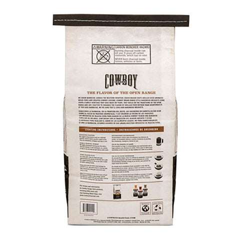 Cowboy 14 lbs. All Natural Range Hardwood BBQ Charcoal Briquets for Grilling