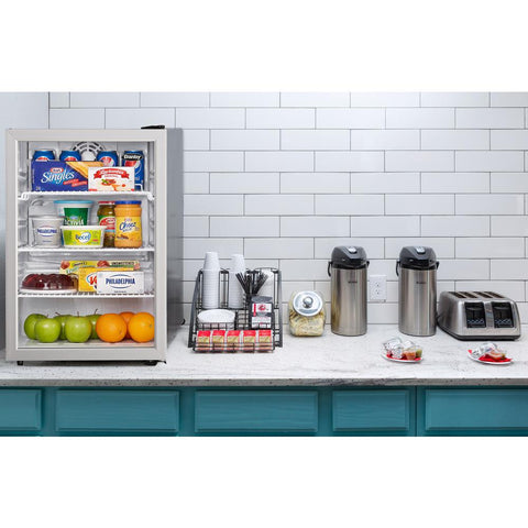 Danby 17.5 in. W 2.6 cu. ft. Commercial Refrigerator in Black