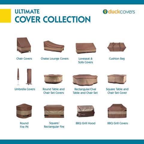 Duck Covers Ultimate 21 in. L x 18 in. W x 32 in. H Square Smoker Cover