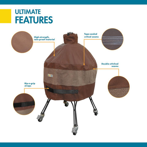 Duck Covers Ultimate 29 in. D x 40 in. H Ceramic Grill Cover