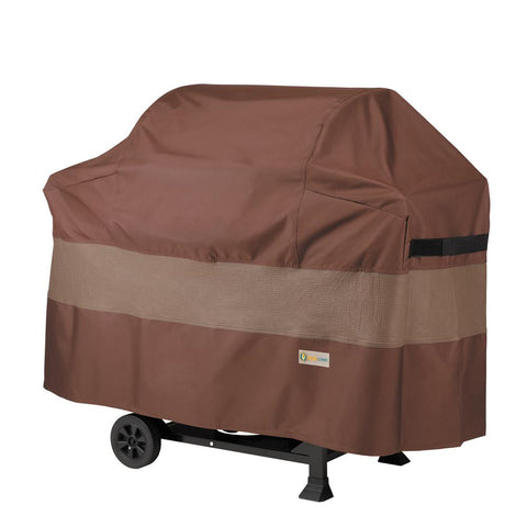 Duck Covers Ultimate 82 in. L x 26 in. W x 52 in. H BBQ Grill Cover