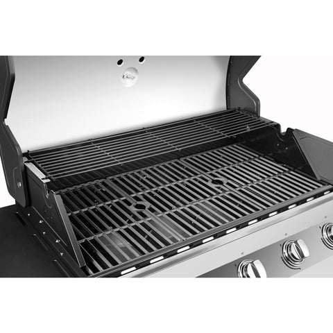 Dyna-Glo Premier 5-Burner Natural Gas Grill in Stainless Steel with Side Burner