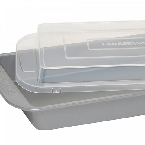 Farberware 9-Inch x 13-Inch Covered Nonstick Cake Pan