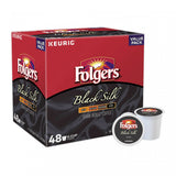 Folgers Black Silk Coffee Keurig K-Cup Pods 48-Count