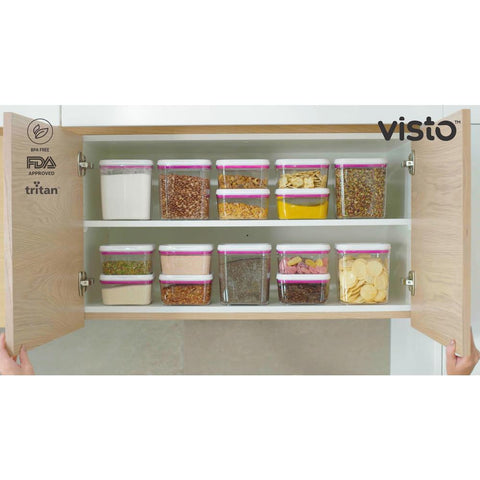Food Storage Solution Set with Lids (8-Pack)