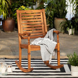 Forest Gate Eagleton Acacia Outdoor Deep Seated Rocking Chair