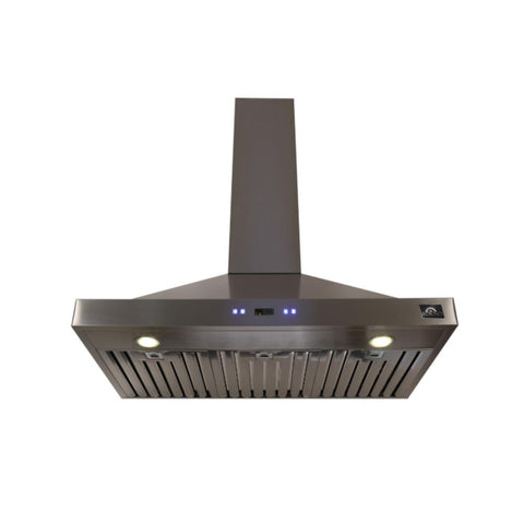 Forno Siena 30 in. Convertible Wall Mount Range Hood in Stainless Steel