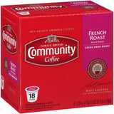 French Roast Extra Dark Roast Coffee Single Serve Cups (72-Pack)