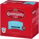 French Vanilla Medium Roast Coffee Single Serve Cups (72-Pack)