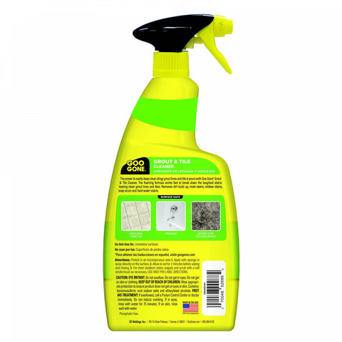 GOO GONE Grout Clean and Restore 28-Ounce Spray Bottle