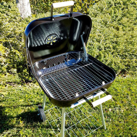 Gibson Home 18 in. Catari Charcoal BBQ Grill in Black
